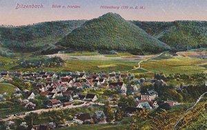 Bad Ditzenbach 1903-ban az alapítás évében
