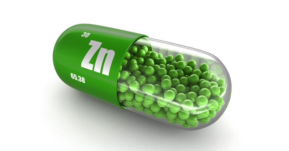 Sanct Bernhard C-vitamin + Cink kapszula 180db